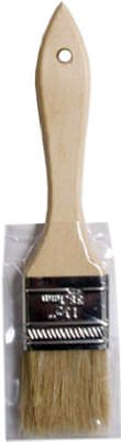 Shur-Line 50010 1.5 in. Wood Handle Chip Brush44; White Bristle