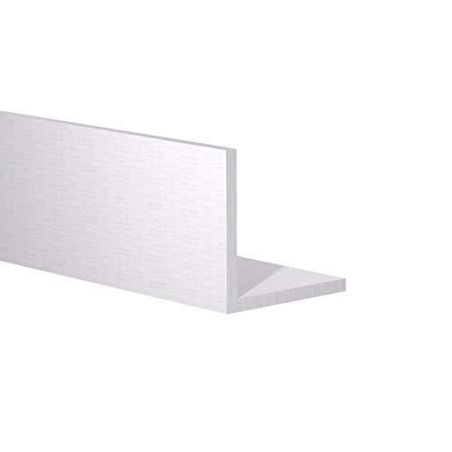 Orange Aluminum - 90 Degree Angled Extrusion - Metal Corner Angle - Extruded Edging Trim Bar - 1-1/2