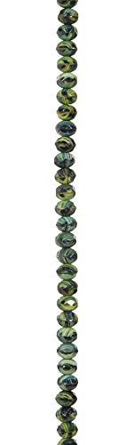(Darice John Bead Strand Gemstone Green Tigereye 9x6mm)