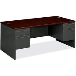 HON38180NS - HON 38000 Series Double Pedestal Desk