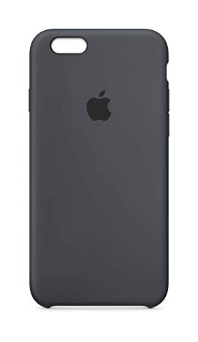 Apple Silicone Case (for iPhone 6s) - Charcoal Gray ()