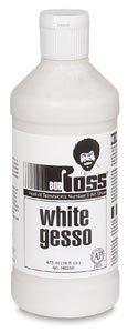BobRoss R62GESSO-50 White Gesso 16 fl. oz. (473ml) -