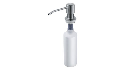 Franke Novinox 0.2L Acero inoxidable - Dispensador de jabón (50 mm, 50 mm, 255 mm): Amazon.es: Hogar