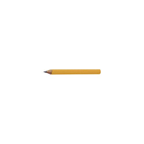 Dixon Golf Pencils, 2 HB Soft, Pre-Sharpened, Yellow, 144 Count (14998) - 5 Pack by Dixon (Image #3)