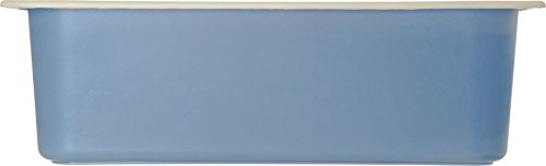 Carlisle CM1100C1402 Coldmaster CoolCheck 6'' Deep Full-Size Insulated Cold Food Pan, 15 Quart, Color Changing, White/Blue by Carlisle (Image #1)