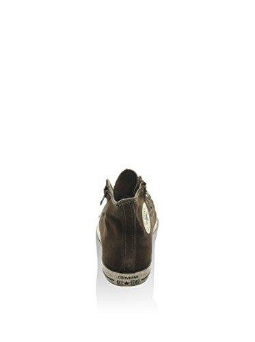 Converse - Converse Ct Double Zip Zapatos Mujer Verde Cuero 141251C Marrón