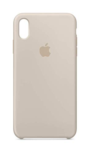 Apple Silicone Case (for iPhone Xs Max) - Stone