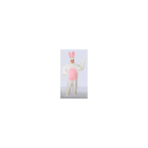 [Halco 1091 White Bunny Suit with Hood- Size Child s 6-8] (Two Faced Halloween Costumes)