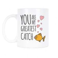 Valentine's Day Mug You Are My Greatest Catch Coffee Mug Cute Greatest Catch Val-11OZ Coffee Mug