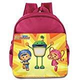 Kids Bot Team Umizoomi School Backpack Cartoon Baby Boys Girls School Bags Pink (Kick Buttowski Games)