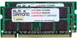 4GB 2X2GB Memory RAM for HP Pavilion Notebooks Notebook dv6920ei DDR2 SO-DIMM 200pin PC2-5300 667MHz Black Diamond Memory Module Upgrade