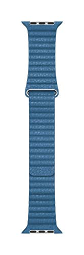 (Apple Watch Leather Loop Band (44mm) - Cape Cod Blue - Large)