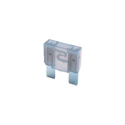 Sicherung 25A 32V grau 2 x Flachstecksicherung MAXI