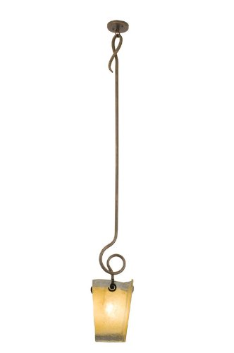 (Kalco 4301AC/ANTQ, Tribecca Mini Cone Pendant, 1 Light, 100 Total Watts, Copper)
