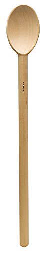 Deluxe Heavyweight French Beechwood Spoon, 17.75-Inches