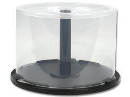 EMPTY CD/DVD CAKE BOX SPINDLE -50 DISCS