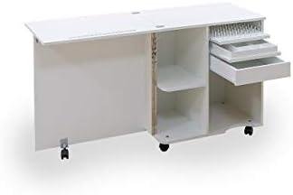 Comfort COMPACT | Mueble para máquina de coser | Armario de costura | (Oak Kendal Cognac): Amazon.es: Hogar