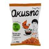 Okusno Fried Shrimp Heads Snack Tom Yum Flavor-25g.(pack of 6)