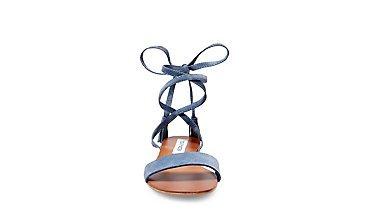 Steve Madden Damen Kapri Sandal Offene, Blau (Blue), 36 EU