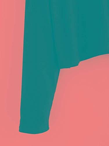 Moda Bianco Manica Elegante Battercake Ventre Lunga Primaverile Tumblr Casuale Autunno Vintage Top Senza Donna Camicetta Shirts Schwarz Spalline Tops Magliette Crop Donne Neck V Rose Ricamo Senza Casual qwwIAY