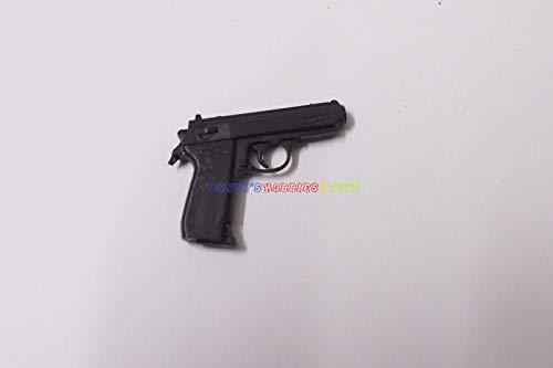 Meedee 1 x New 1/6 Scale PPK Hand Gun (Black) for 12