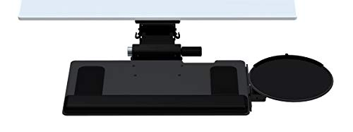 Humanscale 6G Black Arm Mechanism with 900 Standard Keyboard Tray System, 8.5