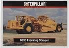 633C Elevating Scraper (Trading Card) 1993 TCM Caterpillar Earthmovers - [Base] #80