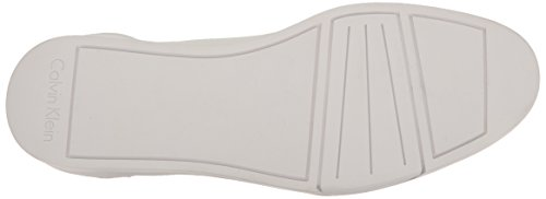 Calvin Klein Balin embossed lea calf smooth white f1719