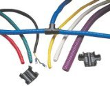 Taylor Cable 38500 Black Convoluted Tubing