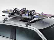 2005 -2012 Chrysler 300 Roof-Mount Ski & Snowboard Carrier by Mopar