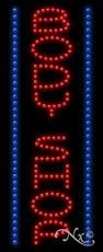 27H x 11W x 1D Vertical Electronic Light Up Sign for Auto Industry LED Body Shop Sign for Business Displays