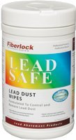 Lead Safe Dust Wipes - Control & Remove Lead Dust | Lead Cleaning & Removal Wipes by Fiberlock - Lead Paint Dust