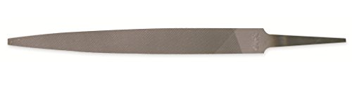 Nicholson Warding Hand File, American Pattern, Double Cut, Rectangular, Coarse, 8