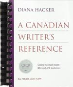 A Canadian Writer's Reference Second Edition