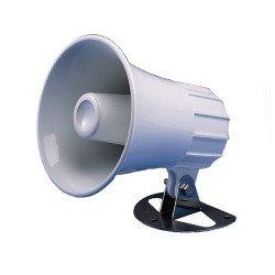 STANDARD 220SW 5 Inch ROUND LOUD HAILER - PA HORN