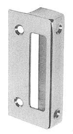 Baldwin 5601 Standard Rim Lock Strike for 5600, 5602 and 5604, Satin - Baldwin Locks Rim