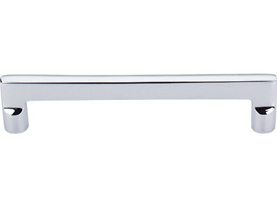 Top Knobs Aspen II Collection 6'' CC Flat Sided Pull -M1976- Polished Chrome