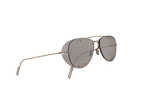 Christian Dior Homme DiorChroma1 Sunglasses Light Gold w/Transparent Blue Shaded Gold Lens 59mm 3YGA9 Chroma 1 Chroma1
