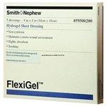 Smith & Nephew 59500200 FLEXIGEL Absorbent Hydrogel Wound Sheet Dressing, 4