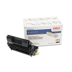Oki 52123601 52123601 Toner, 15,000 Page-Yield, Black