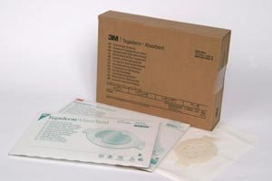 3M Health Care 90801 Dressing, Medium Oval, 4.4'' x 5'' Size, Clear (Pack of 30)