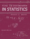 Viva la Difference in Statistics, Weaver, Kenneth A., 0757502288