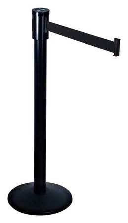 Barrier Post with Belt, 40 In. H, ()