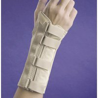 Fla 22-5601LBEG Soft Form Elegant Wrist Support for Right, Beige, Extra Large by FLA Orthopedics