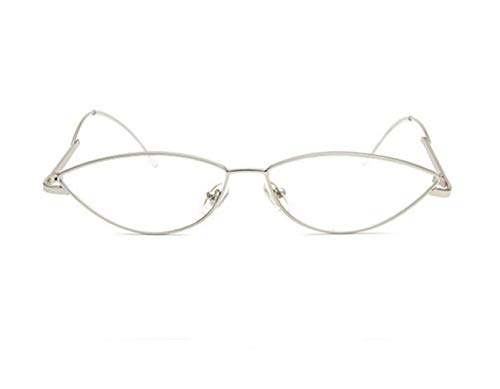 de Gafas Gafas Protección Gafas sol al Decoración UV400 Marco Pequeño Moda de Metal aire libre sol sol Mujeres de de Gafas de Color Silver Hombres FlowerKui plata fU4P7q6P