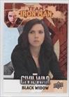 Black Widow  Trading Card  2016 Upper Deck Captain America  Civil War   Team Bio Iron Man  Imb5