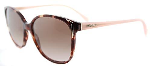 Prada Sunglasses Round - Prada PR01OS UE00A6 Spotted Brown/Pink PR01OS