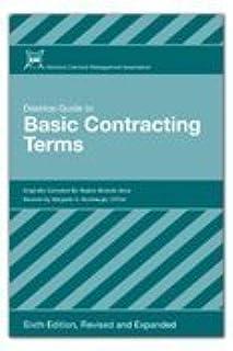 desktop guide to basic contracting terms 7th edition regina rh amazon com