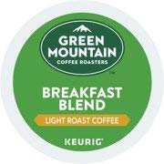 (Green Mountain Breakfast Blend Cofee K-Cups, Keurig Single K-Cup Pods, Light Roast Coffee, 144 Count)