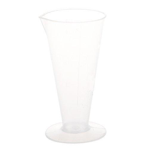 TOOGOO(R) Liquid Volume Measure Tool Conical Plastic Measuring Cup 50mL